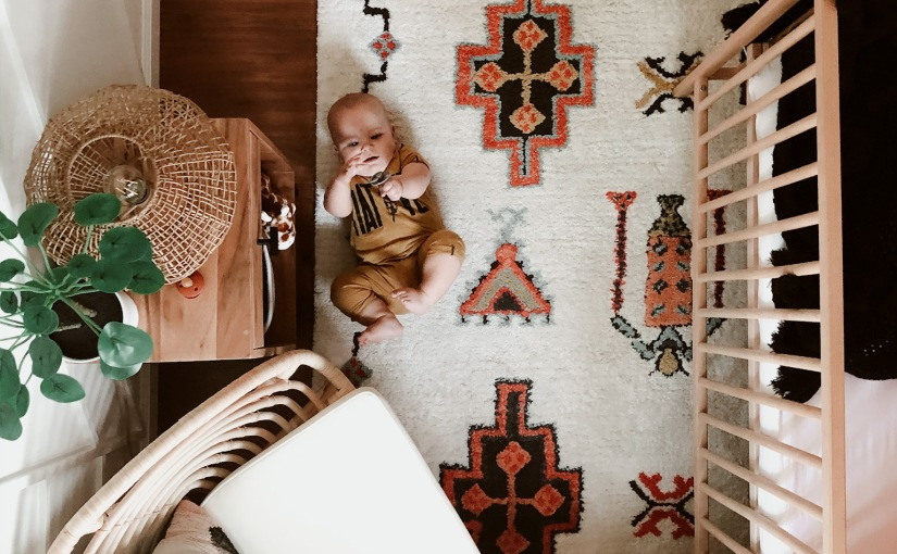 A Boho Nursery for a Boy!